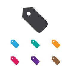 of coiffeur symbol on tag icon vector image vector image