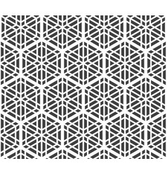 seamles geometric ornament based on kumiko ornam vector image vector image
