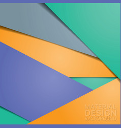 unusual modern material design background vector image vector image