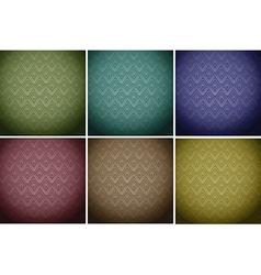 Wallpaper tiles in colours vector