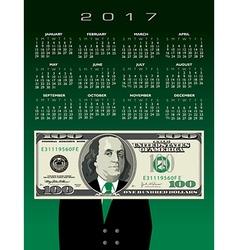 2017 Cal 100 Ben vector image vector image