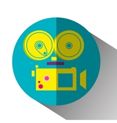 Movie and film entertainment vector