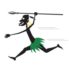 Aboriginal running vector