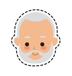 man cute cartoon icon image vector image vector image