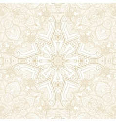 Seamless ornate vintage paisley background vector