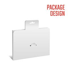 folding pack white vector image