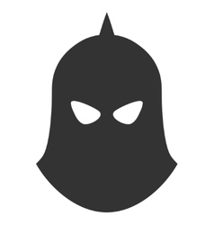Knight helmet icon vector