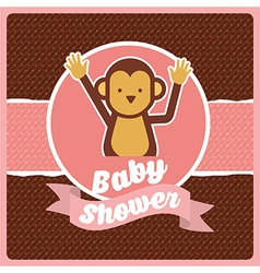 Baby shower vector