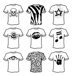 clothing set vector image