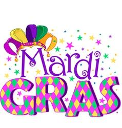 Mardi Gras vector image vector image