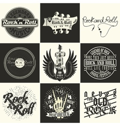 set of tee shirt print designs vector image vector image