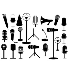 Microphone collection vector