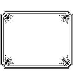 frame magasin 3 vector image