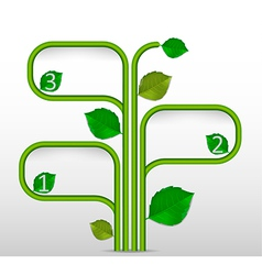 Abstract Ecology Business vector image