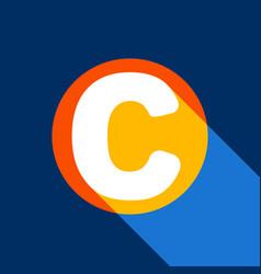 letter c sign design template element vector image
