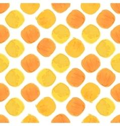 Summer watercolor seamless pattern vector