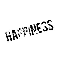 Happiness rubber stamp vector