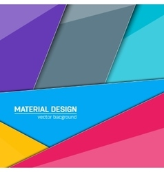 Material design background vector