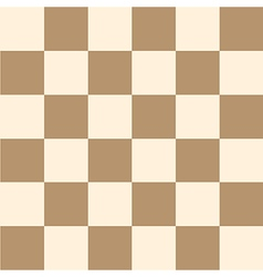 Coffee brown cream chess board background vector
