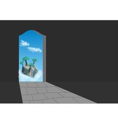 Doorway vector