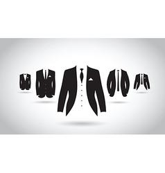 Suit group vector