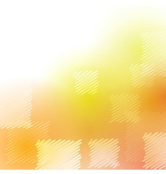 Abstract summer poster with square elements vector