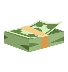 Dollar money symbol icon vector image vector image