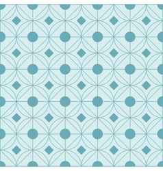 geometrical circular pattern background vector image vector image
