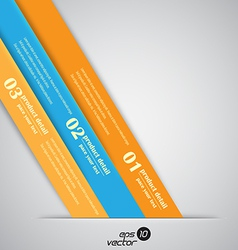 number banner vector image