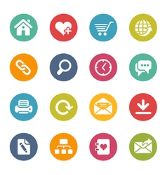 Web site icons vector