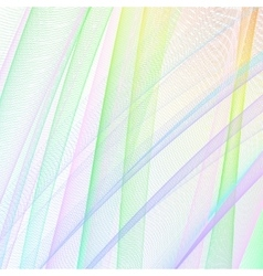 Abstract grid lines vector