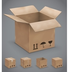 Boxes box vector