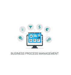Business process management system vector
