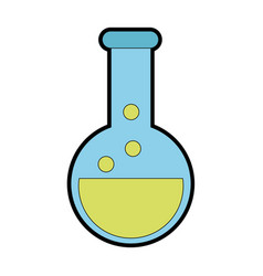 Isolated flask design vector