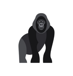 Cute monkey icon logo symbol vector image