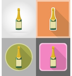 Celebration flat icons 03 vector