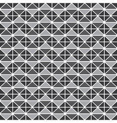 Triangluar retro pattern vector