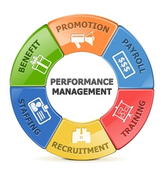 Performance management system vector