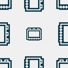 Book icon sign seamless pattern with geometric vector