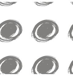Round stroke seamless pattern textile grunge vector