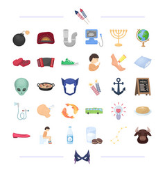 Equipment plumbing travel and other web icon in vector