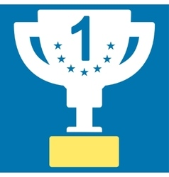 First prize icon from competition success vector