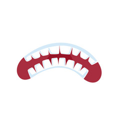 Fury comic mouth expression vector