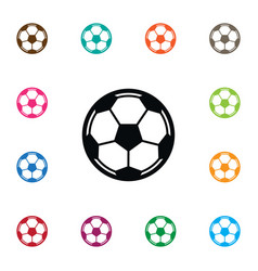 Isolated soccer icon game element can be vector