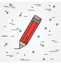 Pencil IconPencil Icon Pencil Icon Drawing Pencil vector image vector image