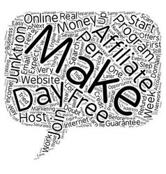 Quickest Way To Make Money Online Guaranteed text vector image vector image
