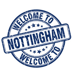 Welcome to nottingham vector