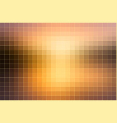 Yellow coral pink black mosaic square tiles vector
