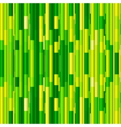 Vivid green bamboo abstract seamless pattern vector
