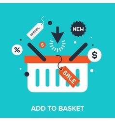 Add to basket vector